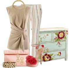 """""""Rustic Dresser"""" by glamatarian ❤ liked on Polyvore"""