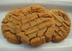 Diary of a Fit Mommy: 2 Ingredient Peanut Butter Cookies