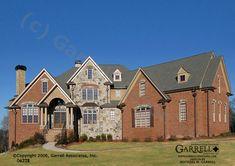 Garrell Associates, Inc.Hillington Manor House Plan # 06228, Front Elevation, French Style House Plans, Estate Size House Plans (5,081 s.f.) Design by Michael W. Garrell