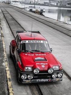 The Renault 5 Turbo or Turbo is a high-performance hatchback automobile launched by the French manufacturer Renault at the Brussels Motor Show in January The car was primarily designed for rallying, but was also sold in a street version. Rally Car, Car Car, Retro Cars, Vintage Cars, Peugeot, Renault 5 Turbo, Rallye Automobile, Gt Turbo, American Graffiti