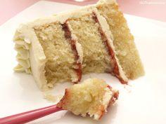 Layer cake de vainilla y fresa - MisThermorecetas