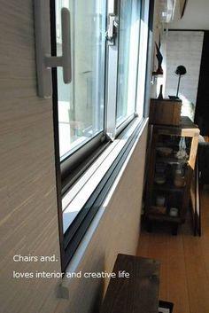 【訂正あり】原状回復可能!DIYでおしゃれな内窓を作ろう!その① : Chairs and.ナチュラルなインテリアと雑貨と手作りと、日々のこと。