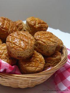 Az áfonya mámora: Teljes kiőrlésű terpetős pogácsa