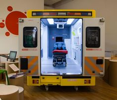 Redesign of an ambulance by Helen Hamlyn Centre for Design and Vehicle Design Department