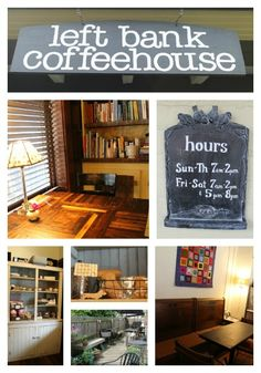 Kid-Friendly Coffee Houses - Left Bank Coffeehouse in Covington