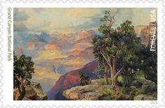 National Parks - Grand Canyon National Park. (© 2016 USPS)