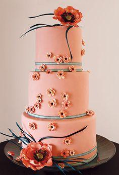 Outstanding Wedding Cake Designs   Wedding Cakes   Brides.com : Brides
