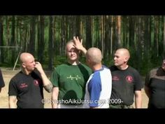 Teaching how to strike on the GB-cluster in the forehead. Do not attempt to…