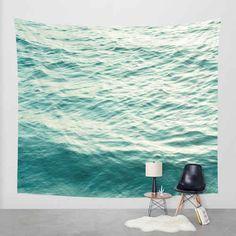 This serene ocean tapestry.
