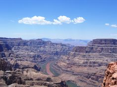 The beautiful Grand Canyon West Rim on the Hualapai Indian Reservation