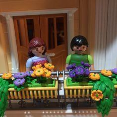 Ya tenemos mansión. Habrá que hacer fiesta de inauguración con todos los demas #playmobil ! #iloveplaymobil #casas #telita #playmo