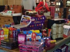 Christmas Goodies have arrived at The Scottish Mill, Bluffton, SC. Come in to get your favorites!