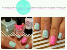 Hot Pink && Pale Turquoise Are So Cute Together !