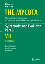 The Mycota : a comprehensive treatise on fungi as experimental systems for basic and applied research / edited by K. Esser. VII, Systematics and evolution. Part B / volume editors D. J. McLaughlin and J. W. Spatafora. - 2nd edition, Berlin [etc.] : Springer, 2015 BU LILLE 1, Cote 579.5 MYC http://catalogue.univ-lille1.fr/F/?func=find-b&find_code=SYS&adjacent=N&local_base=LIL01&request=000627011