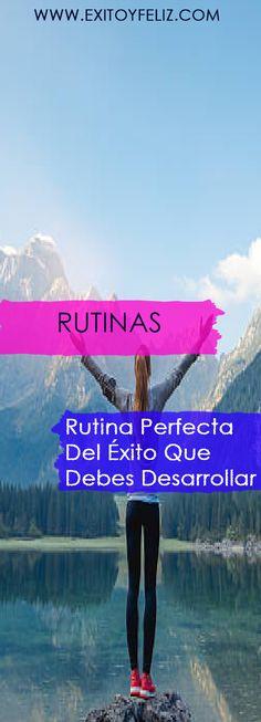 Rutina Perfecta Del Éxito Que Debes Desarrollar #ejercicio #rutinas  #exitoyfeliz