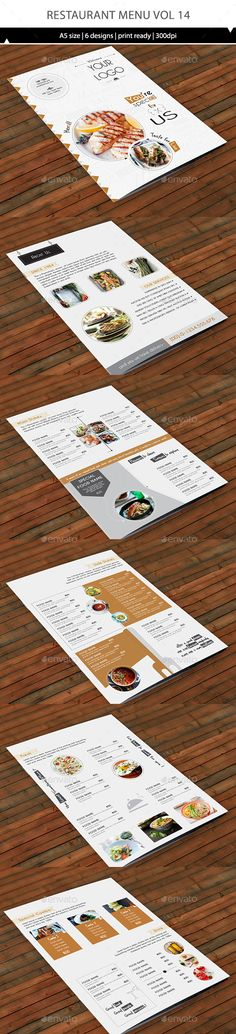 A4 Delicious Food Menu Flyer Food menu and Delicious food - sample cafe menu template