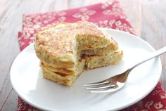 Pancakes don't get any healthier than this. Ripe bananas, shredded coconut and eggs are the only ingredients in this gluten-free banana pancakes recipe.