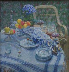 """Igor Grabar,""""Still Life,"""" 1907,   oil on canvas,   Tretyakov Gallery."""