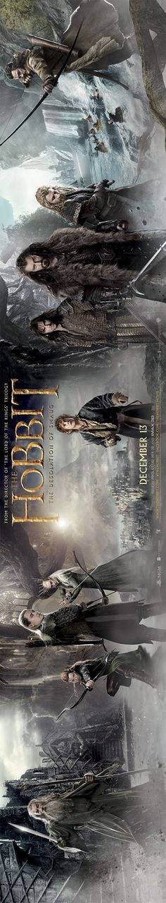 New Desolation of Smaug banner. SO EXCITED THAT I CAN'T CONTAIN THE STRANGE EXCITED SOUNDS I'M MAKING