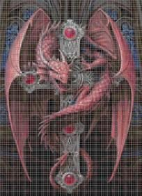 Gothic guardian cross stitch pattern email only