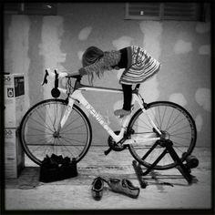 Daddy's bike.