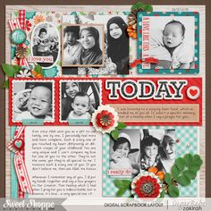 #digital #scrapbook #layout by ZakirahZakaria for SweetShoppeDesigns, using products by Amber Shaw & Brook Magee.