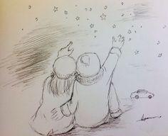 星空のデート★