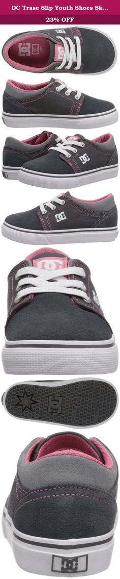 DC Trase Slip Youth Shoes Skate Shoe (Toddler), Grey/Pink, 10 M US Toddler. DC Shoes is an American company that specializes in footwear for action sports, including skateboarding and snowboarding. Founded by Ken Block and Damon Way in 1993, DC quickly grew to a leader in performance skateboarding shoes and renowned action sports brand. Today DC stands as a global brand whose product line has expanded to include men's, kid's and kids' skateboarding and lifestyle shoes, apparel, snowboard...