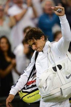 Photos from Rafa's 2nd round match against Rosol. (Wimbledon 2012)
