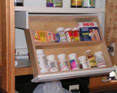 Silverware drawer Under cabinet Storage and Flatware Organizer – fillerorganizer Wine Cabinets, Upper Cabinets, Storage Cabinets, Storage Drawers, Storage Spaces, Shoe Storage, Kitchen Cabinets, Medicine Cabinets, Kitchen Drawers
