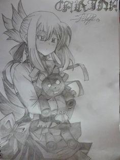 #art #dibujo #dibujoalápiz #lápiz  #pandorahearts #anime