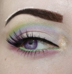 Birthstone: Opal https://www.makeupbee.com/look.php?look_id=920512. Inglot #441 in the outer corner and crease. 3. Mochi above #441. Acidberry above Mochi. Blend together! 4. Highlight inner corner and browbone with a mix of Goldilux and Illamasqua's Slink eyeshadow. 5. Apply Birthday Girl under the eye. 6. Line waterline with Urban Decay 24/7 eyeliner pencil in Freak.