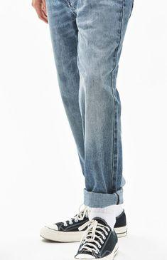 e246fe40e5205 Slim Fit Vintage Light Jeans