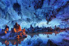 #ReedFluteCave, #Guilin, #China ©Gringos4|Drmstm @VisitChinaNow #caves #wanderlust #travel http://www.trazeetravel.com