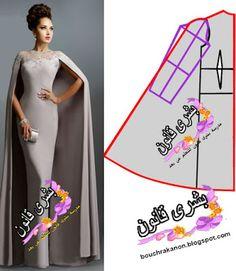 Diy Wedding Dress, Wedding Dress Patterns, Dress Making Patterns, Look Legging, Sleeves Designs For Dresses, Fashion Sewing, Sewing Clothes, Elegant Dresses, Pattern Fashion