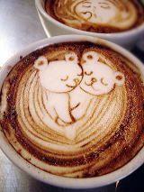 coffee? awesome. koalas? awesome. coffee art koalas? ..........oh my god.