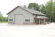 Metal Buildings - CLICK PIC for Various Metal Building Ideas. #housekits #steelbuildinghomes