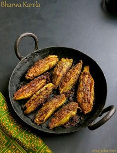 Maayeka - Authentic Indian Vegetarian Recipes: How To Make Bharwa Karela, Bharwa  Karela Recipe, ...