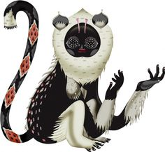 Finnish folk-inspired art by Klaus Haapaniemi. Cute Illustration, Graphic Design Illustration, Watercolor Illustration, Character Concept, Concept Art, Character Design, Collages, All Nature, Illustrations