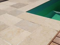 Sandstone Tiles is an alternative to sandstone itself. It is basically a thin tiles made from a regular sandstone. Therefore, it holds the vintage sandstone looks and properties without braking the bank. Sandstone tiles have many benefits Pool Paving, Outdoor Pavers, Outdoor Stone, Outdoor Tiles, Outdoor Flooring, Paving Stones, Garden Slabs, Garden Tiles, Patio Tiles