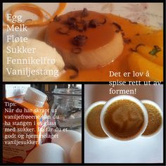 Caffè in forchetta, toscansk kaffepudding med fennikelfrøkrem