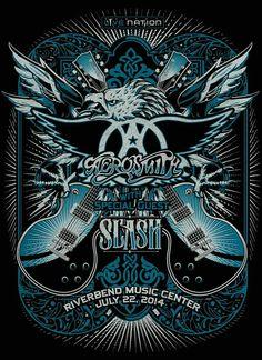 Aerosmith & Slash 2014 tour