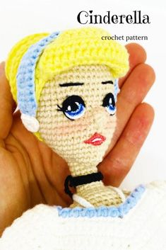I will show you how to make this beautiful amigurumi doll in my step-by-step crochet pattern tutorial.This crochet doll pattern is suitable for the advanced beginner or intermediate crocheter.   #crochetdollpattern#amigurumidollpattern#easyamigurumipattern Crochet Doll Tutorial, Crochet Doll Pattern, Crochet Patterns, Easy Amigurumi Pattern, Amigurumi Doll, Cute Crochet, Crochet Hooks, Step By Step Crochet, Stuffed Animal Patterns