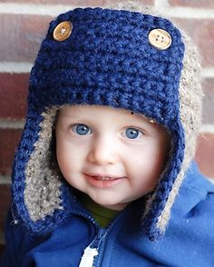The Bomber Hat Crochet Pattern Permission to sell by adrienneengar, $4.99.    Christmas gift for kids!