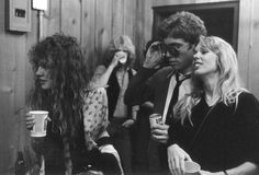 Stevie  ~ ☆♥❤♥☆ ~ Nicks, 'Gold & Braid' co-writer Tom Moncrieff and Mary Torrey at a New York party, 1979  ~  http://ledge.fleetwoodmac.net/showthread.php?t=23924