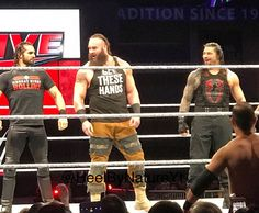 WATCH: Braun Strowman teams with Roman Reigns and Seth Rollins at WWE house show