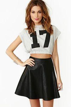 NASTYGAL Skater Skirt