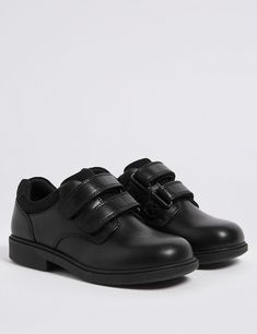 57a76be184fa4 Kids  Leather School Shoes (8 Small - 1 Large)
