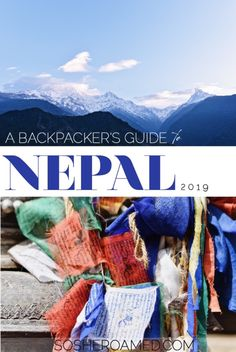 Travelling to Nepal? Start here and read my ultimate backpacking guide to the mighty Himalayas, spiritual cities and captivating culture! Travel Alone, Asia Travel, Solo Travel, Travel Nepal, Nepal Culture, Plan Your Trip, World Heritage Sites, Rafting, Trip Planning