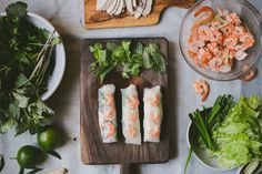 Forget takeout: make Vietnamese spring rolls at home.